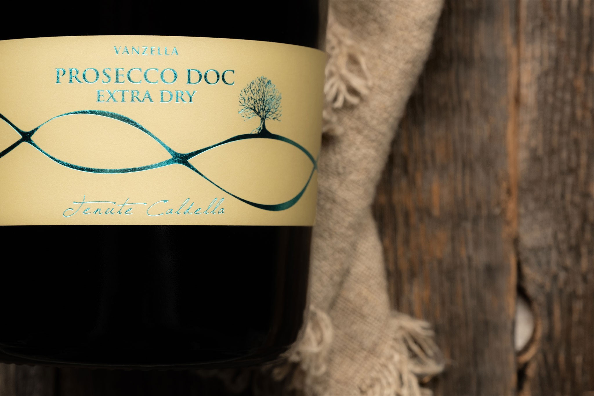 Prosecco Extra Dry detail